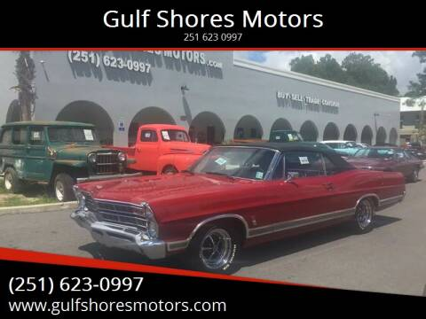 1967 Ford Galaxie for sale at Gulf Shores Motors in Gulf Shores AL