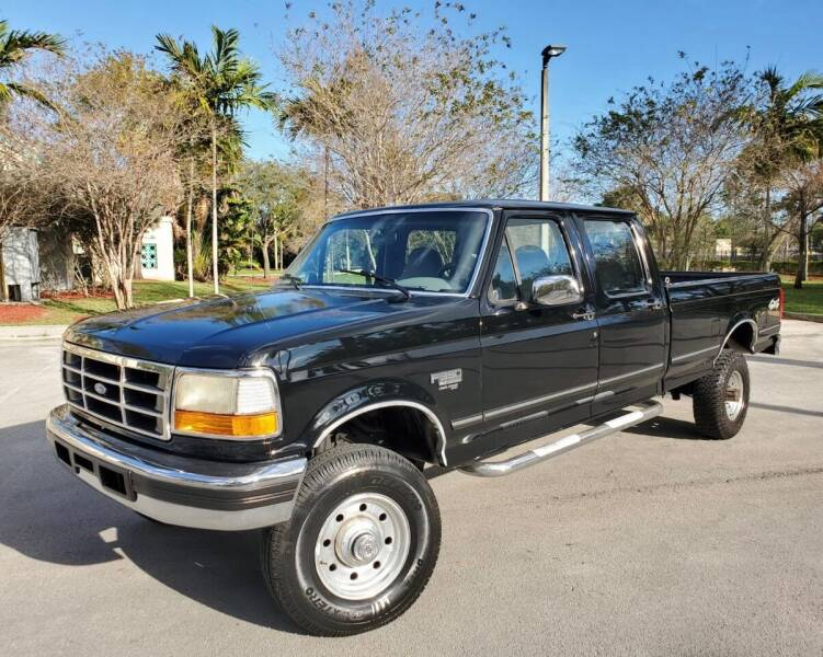 1997 Ford F-350 for sale at FIRST FLORIDA MOTOR SPORTS in Pompano Beach FL