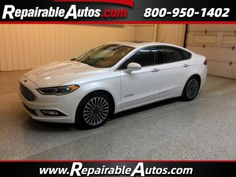 2018 Ford Fusion Hybrid for sale at Ken's Auto in Strasburg ND