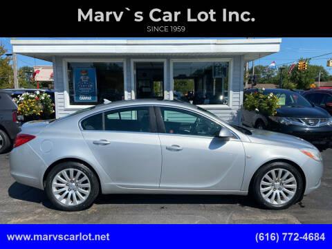 2011 Buick Regal for sale at Marv`s Car Lot Inc. in Zeeland MI