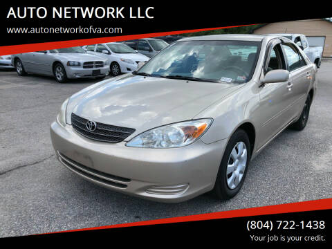 2004 Toyota Camry for sale at AUTO NETWORK LLC in Petersburg VA