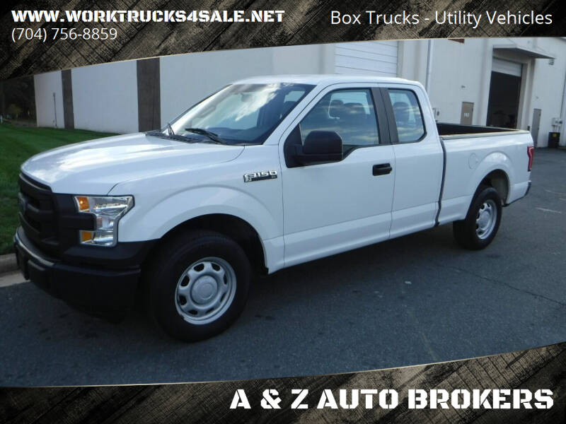2015 Ford F-150 for sale at A & Z AUTO BROKERS in Charlotte NC