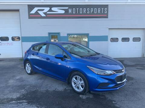 2017 Chevrolet Cruze for sale at RS Motorsports, Inc. in Canandaigua NY