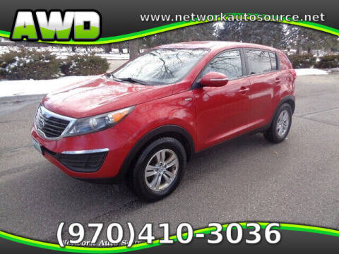 2011 Kia Sportage for sale at Network Auto Source in Loveland CO