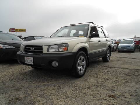 2005 suburu forester for sale at Mountain Auto in Jackson CA