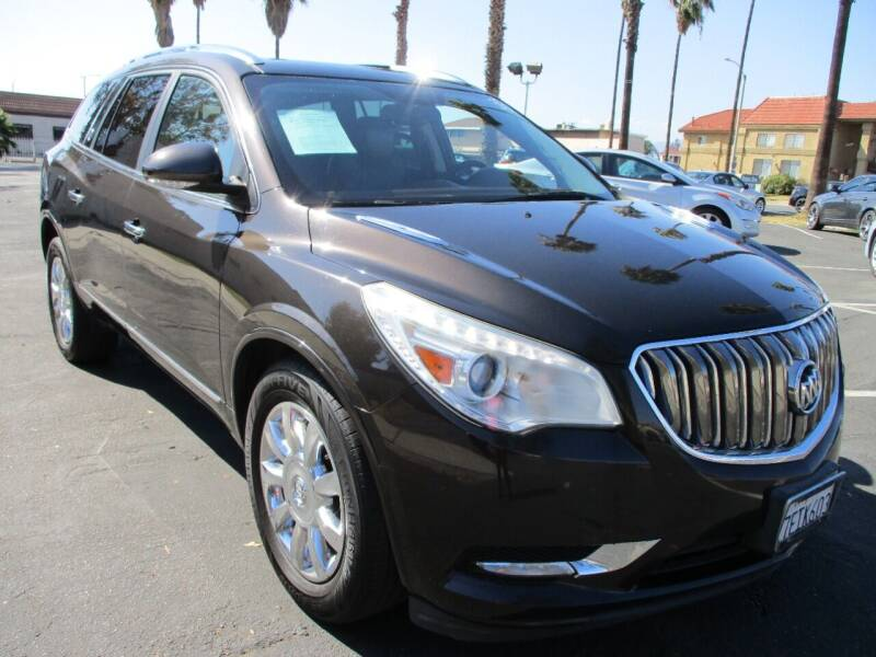 2014 Buick Enclave for sale at F & A Car Sales Inc in Ontario CA