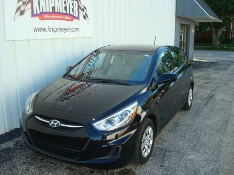 2015 Hyundai Accent for sale at Team Knipmeyer in Beardstown IL