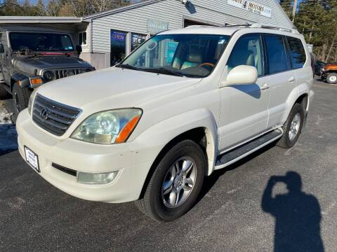 2007 Lexus GX 470 for sale at Route 4 Motors INC in Epsom NH