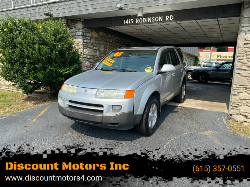 2005 Saturn Vue for sale at Discount Motors Inc in Old Hickory TN