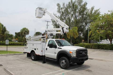 2012 Ford F-550 Super Duty for sale at Truck and Van Outlet in Miami FL