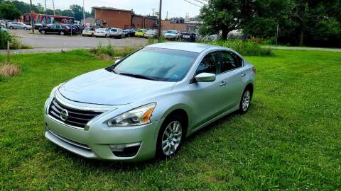 2013 Nissan Altima for sale at Cleveland Avenue Autoworks in Columbus OH