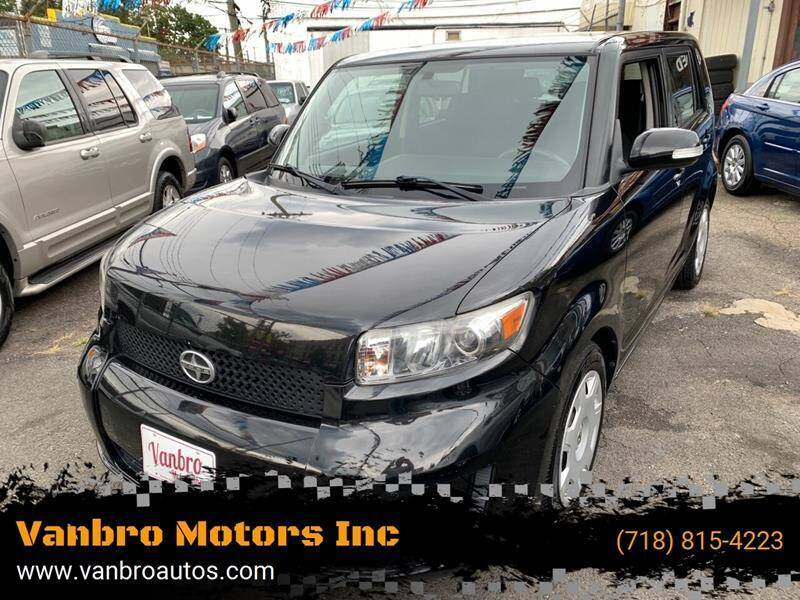2009 Scion xB for sale at Vanbro Motors Inc in Staten Island NY