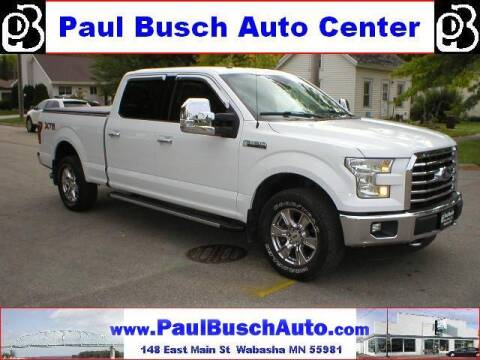 2016 Ford F-150 for sale at Paul Busch Auto Center Inc in Wabasha MN