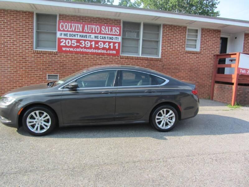 2015 Chrysler 200 for sale at Colvin Auto Sales in Tuscaloosa AL