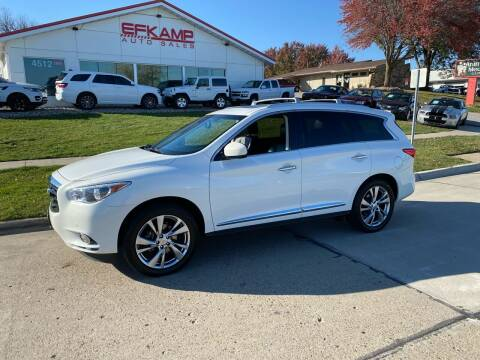 2013 Infiniti JX35 for sale at Efkamp Auto Sales LLC in Des Moines IA