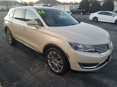 2016 Lincoln MKX for sale at Cooley Auto Sales in North Liberty IA