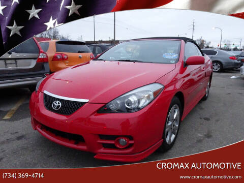 2007 Toyota Camry Solara for sale at Cromax Automotive in Ann Arbor MI