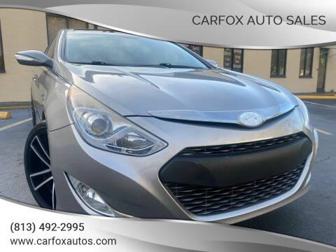2014 Hyundai Sonata Hybrid for sale at Carfox Auto Sales in Tampa FL