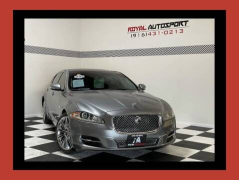 2012 Jaguar XJL for sale at Royal AutoSport in Sacramento CA