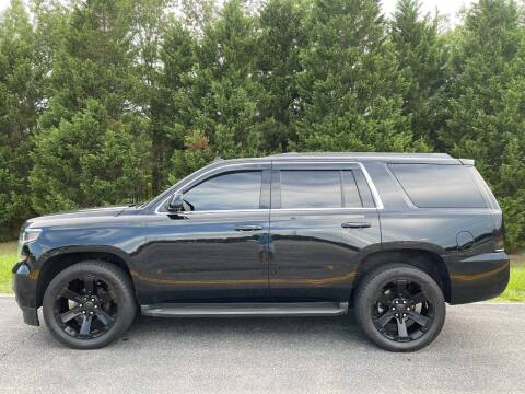 2015 Chevrolet Tahoe for sale at DLUX Motorsports in Fredericksburg VA
