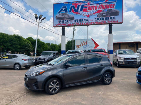 2018 Toyota Prius c for sale at ANF AUTO FINANCE in Houston TX
