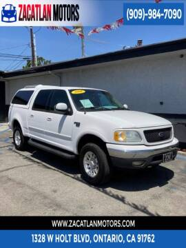 2001 Ford F-150 for sale at Ontario Auto Square in Ontario CA