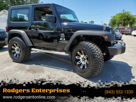 2009 Jeep Wrangler for sale at Rodgers Enterprises in North Charleston SC