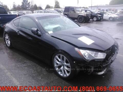 2013 Hyundai Genesis Coupe for sale at East Coast Auto Source Inc. in Bedford VA