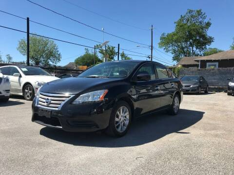2013 Nissan Sentra for sale at Saipan Auto Sales in Houston TX
