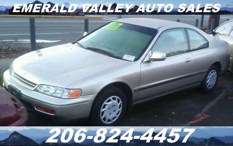 1994 Honda Accord for sale at Emerald Valley Auto Sales in Des Moines WA