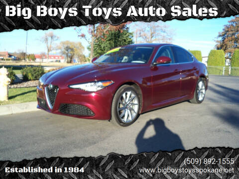 2017 Alfa Romeo Giulia for sale at Big Boys Toys Auto Sales in Spokane Valley WA