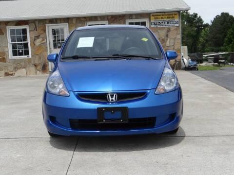 2007 Honda Fit for sale at Flywheel Auto Sales Inc in Woodstock GA