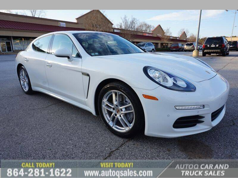 2014 Porsche Panamera for sale at Auto Q Car and Truck Sales in Mauldin SC