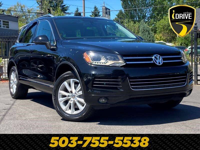 2013 Volkswagen Touareg for sale in Portland, OR