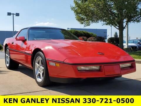 1989 Chevrolet Corvette for sale at Ken Ganley Nissan in Medina OH