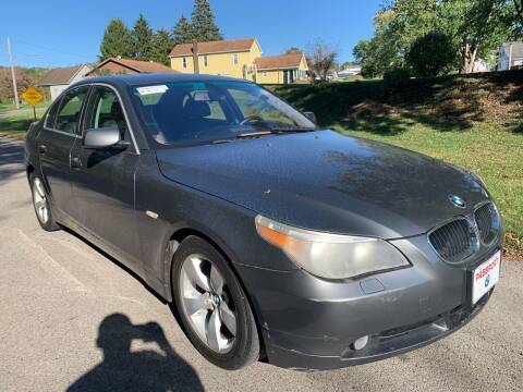 2005 BMW 5 Series for sale at Trocci's Auto Sales in West Pittsburg PA