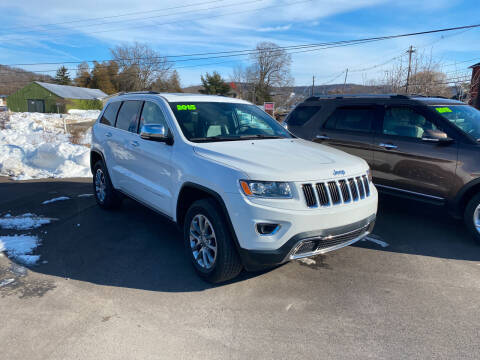 2015 Jeep Grand Cherokee for sale at Greens Auto Mart Inc. in Wysox PA