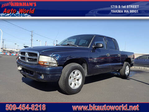 2003 Dodge Dakota for sale at Bruce Kirkham Auto World in Yakima WA