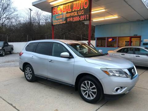 2013 Nissan Pathfinder for sale at Global Auto Sales and Service in Nashville TN