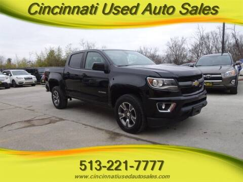 2017 Chevrolet Colorado for sale at Cincinnati Used Auto Sales in Cincinnati OH