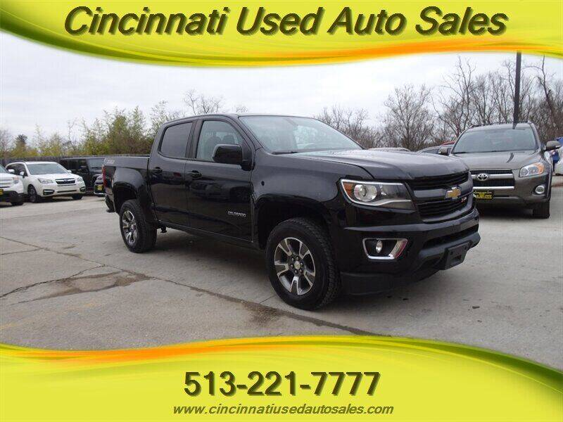 2017 Chevrolet Colorado for sale at Cincinnati Used Auto Sales in Cincinnati OH