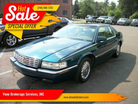 1995 Cadillac Eldorado for sale at Yono Brokerage Services, INC in Farmington MI