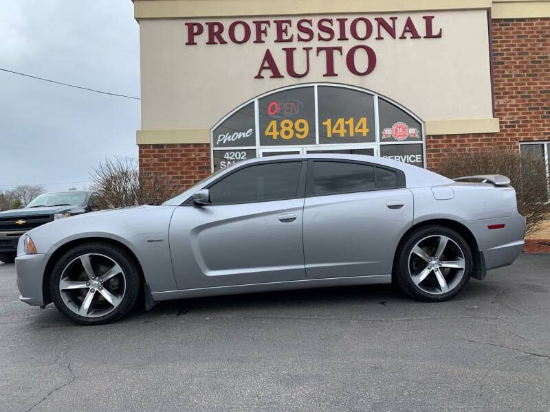 2014 Dodge Charger for sale at Professional Auto Sales & Service in Fort Wayne IN