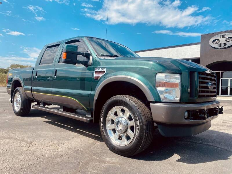 2009 Ford F-250 Super Duty for sale at The Truck Shop in Okemah OK