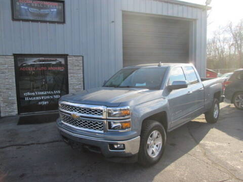 2015 Chevrolet Silverado 1500 for sale at Access Auto Brokers in Hagerstown MD
