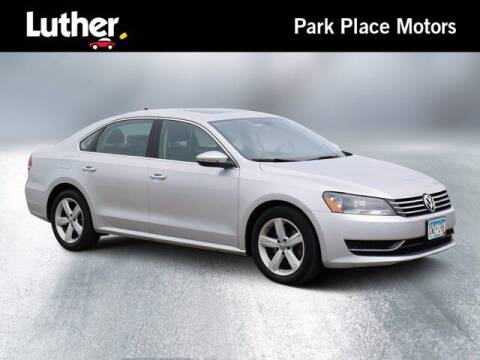 2012 Volkswagen Passat for sale at Park Place Motor Cars in Rochester MN