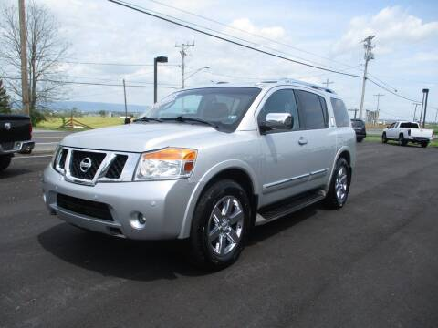 2012 Nissan Armada for sale at FINAL DRIVE AUTO SALES INC in Shippensburg PA