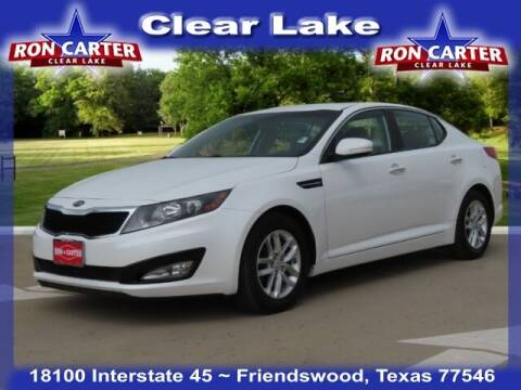 2013 Kia Optima for sale at Ron Carter  Clear Lake Used Cars in Houston TX