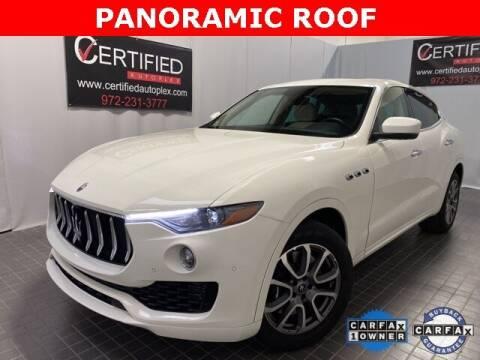 2020 Maserati Levante for sale at CERTIFIED AUTOPLEX INC in Dallas TX