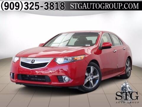 2013 Acura TSX for sale at STG Auto Group in Montclair CA